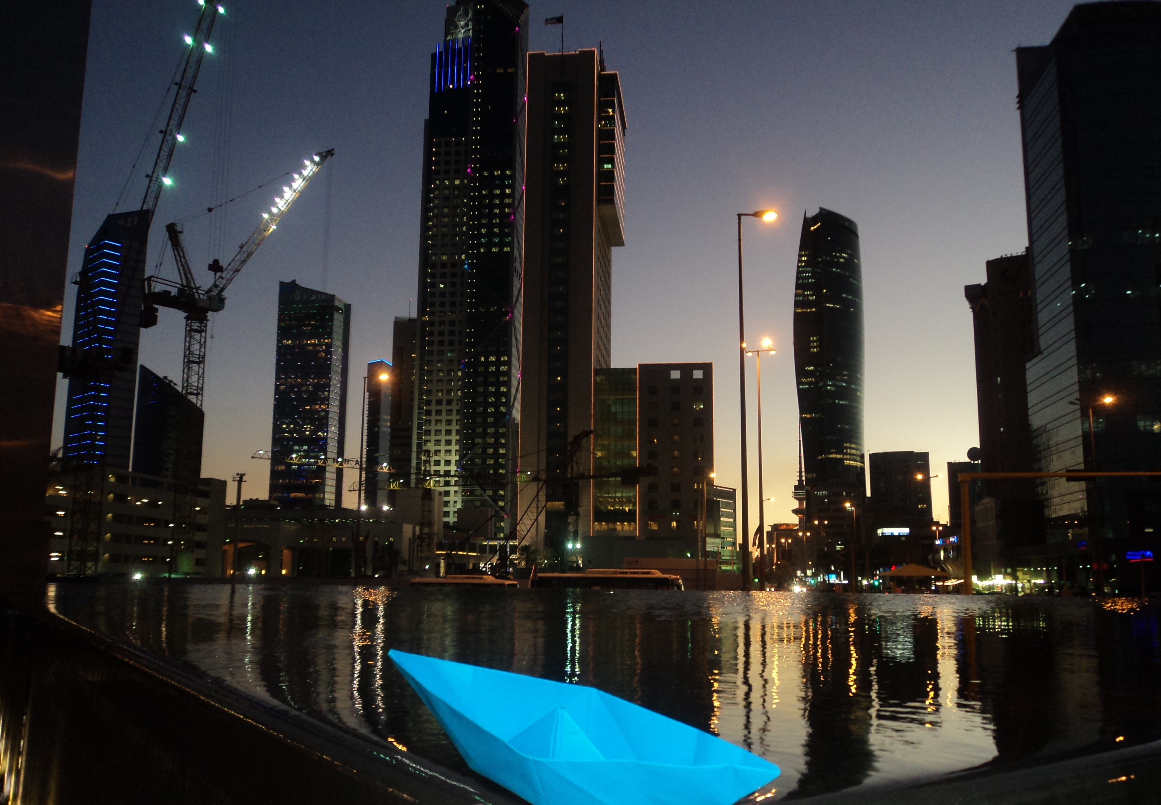 Jef in Koeweit