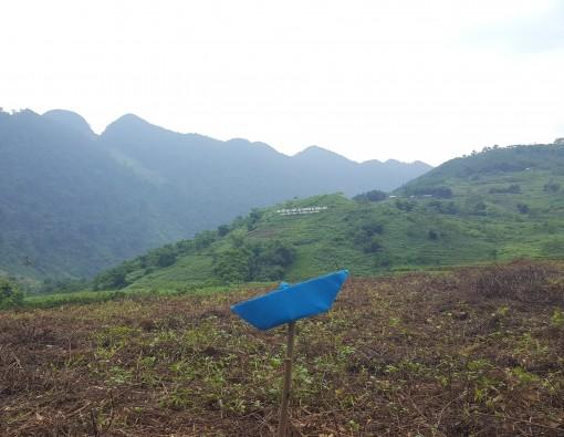 start karst plateau vanaf Ha chiang naar Dong van Noord vietnam